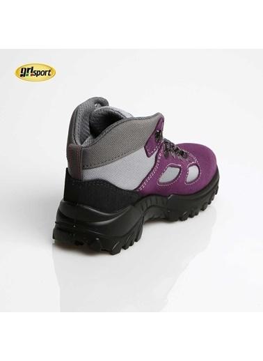 Gri Sport Ayakkabı Renkli